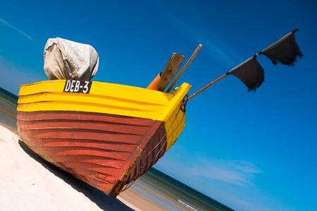 baltic: Baltic fishing boat Stock Photo