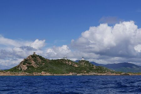 holidays on the island of beauty, in southern Corsica.discovery of the bloody islands, next to the city of Ajaccio