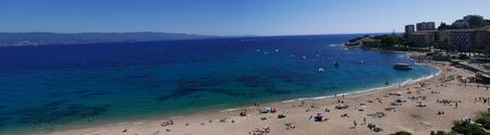holidays on the island of beauty, in southern Corsica.Seaside landscape