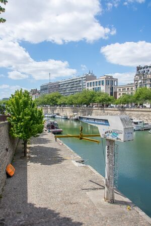 discovery of Paris and the banks of the Seine in summer, France