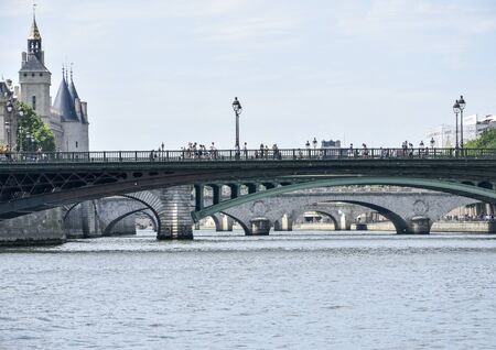 visit of the capital of France and its banks of the Seine