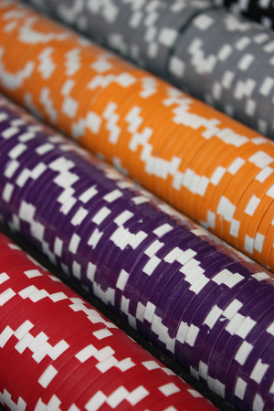 colorfull casino chips