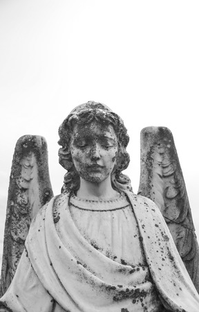 old angel statue