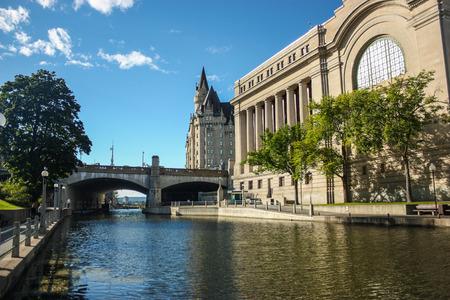 rideau canal: Rideau Canal in Ottawa Canada