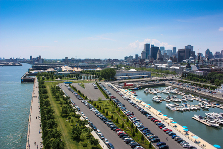 old port of Montreal Canada