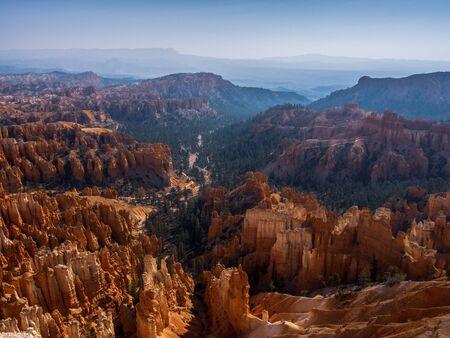 Bryce Canyon National Park at Navajo Loop Trail, Utah, USA Banco de Imagens