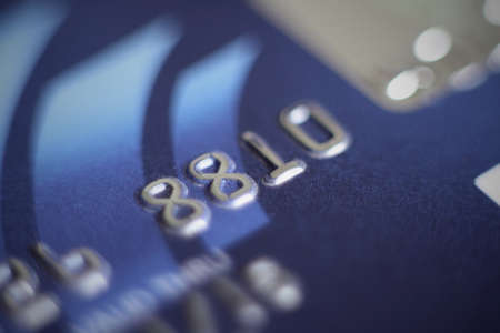 close up of a credit card Stock Photo - 14102437