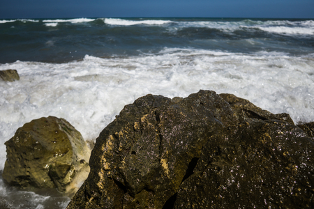 rocks at the coast of crete