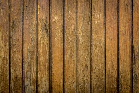 laths: Natural wood texture for background brown with grooves Stock Photo