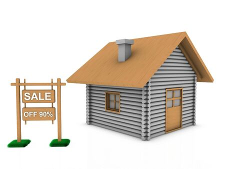 sale home  Stock Photo