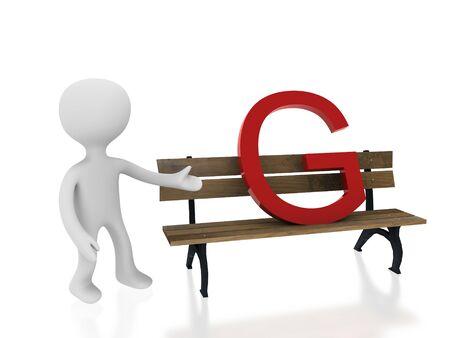 letter g on desk