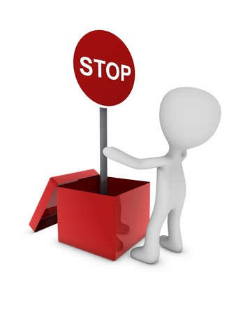 stop sign traffic Stock Photo - 11355089