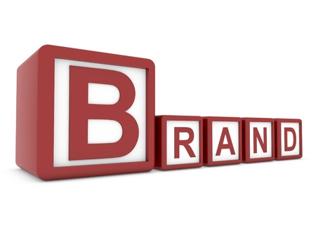 brand on boxes Stock Photo - 11778859