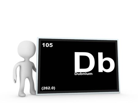 dubnium panel Stock Photo - 11778757