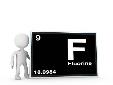 fluorine panel Stock Photo - 11778754
