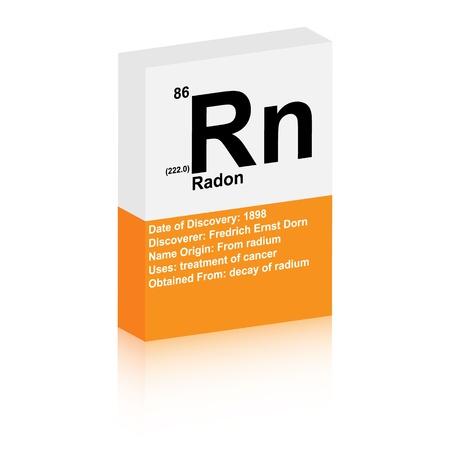 radon symbol Stock Vector - 13345169
