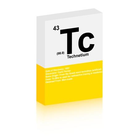 Technetium symbol Stock Vector - 13345222