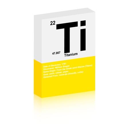 Titanium symbol Vector