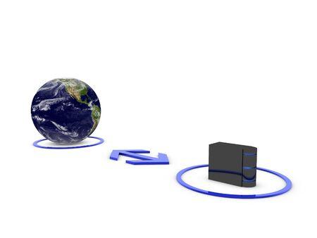 central server  Stock Photo - 13467222