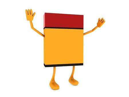 ebox: e-box figure Stock Photo