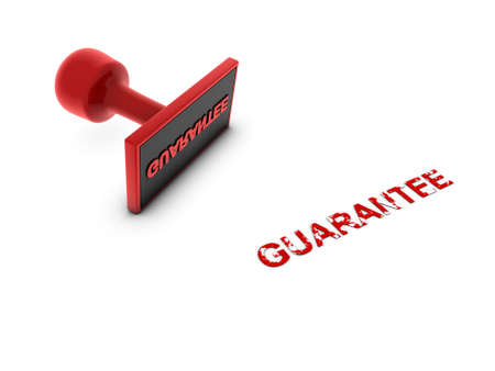 guarantee stamp  Stock Photo - 13989862