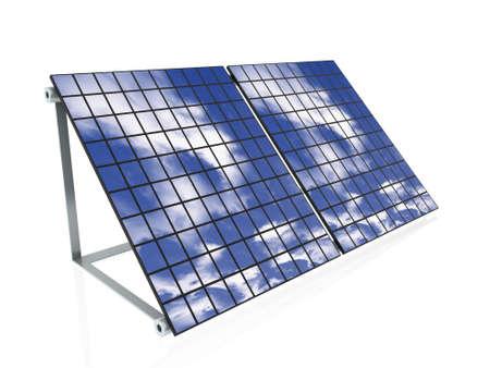 3d solar panels  photo