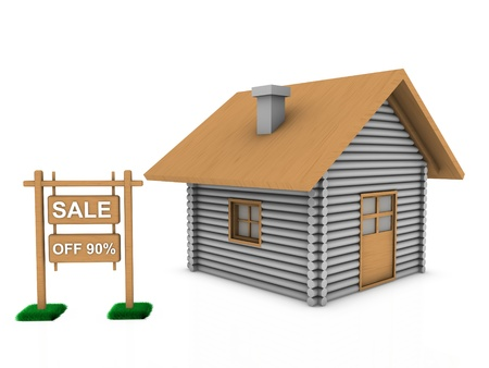 residences: sale home  Stock Photo