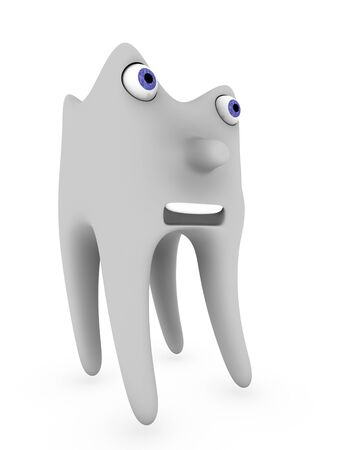 carious: 3d tooth