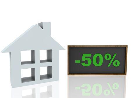 sale house Stock Photo - 14034624