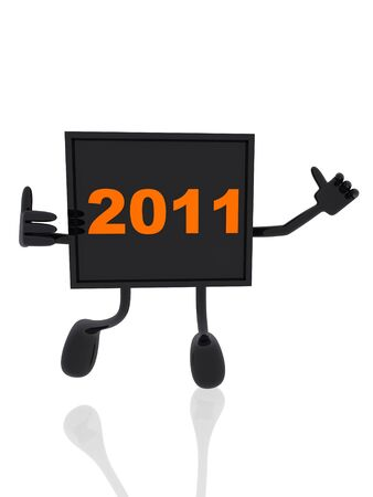 year 2011 banner  photo