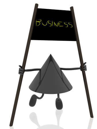 business banner  Stock Photo