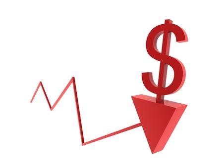 Evolution of dollar Stock Photo - 14034198