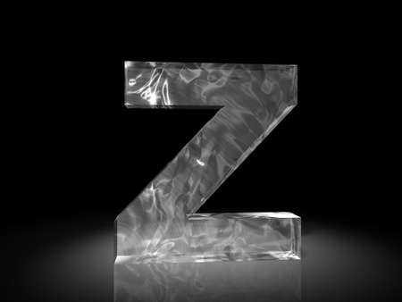 letter z of ice photo