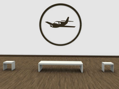 airplane panel photo