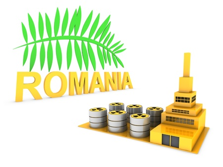 romanian factory Stock Photo - 18458880