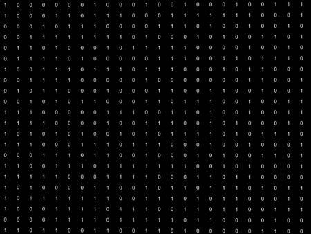 Binary code background Stock Photo - 7583645