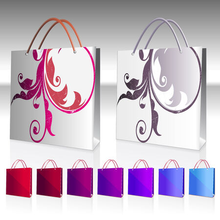 beautiful bag Vector