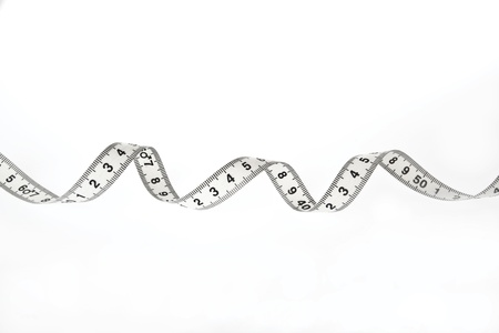 White tape measure