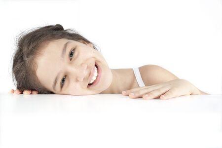 Smiling cute girl