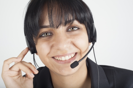 Helpdesk operator  Stock Photo - 16193726