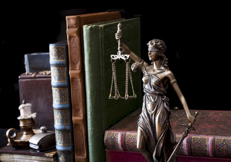 juridical: Statue of justice