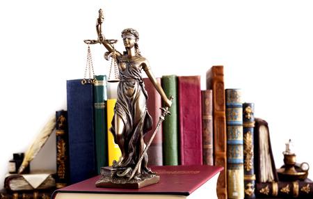 Standbeeld van rechtvaardigheid