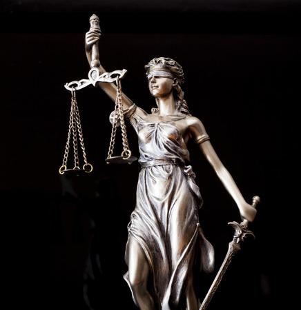 正義の女神 写真素材