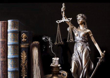 justice statue: Statue of justice