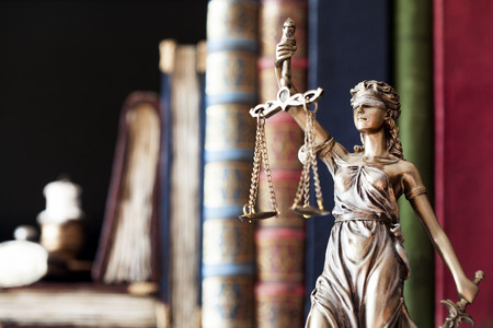 law scale: Statue of justice
