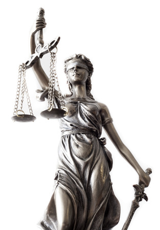 balanza de la justicia: Estatua de la justicia