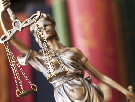 balanza justicia: Estatua de la justicia