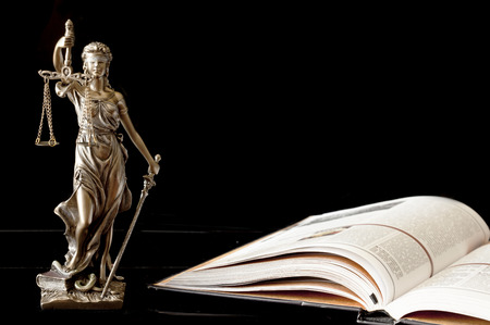 legal books: Statue of justice