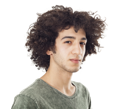 young man portrait: Portrait of young man