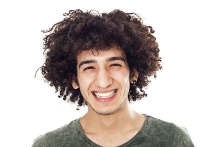 Portrait of smiling young man Stok Fotoğraf - 45736351